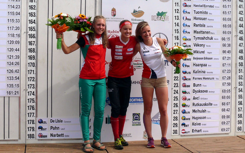 Sárközy Zsófia ezüstérmes a Junior Világbajnokságon