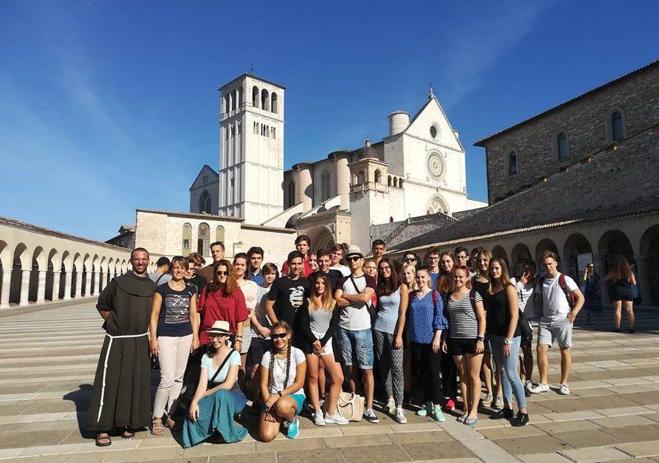 12.b Assisi kirándulás