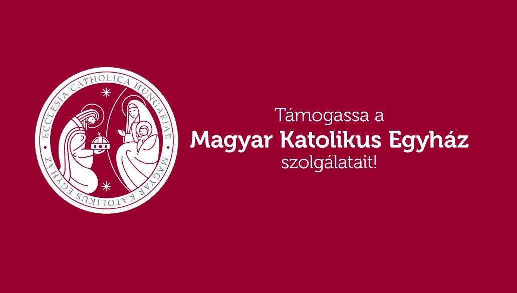1% felajánlása a Magyar Katolikus Egyház számára