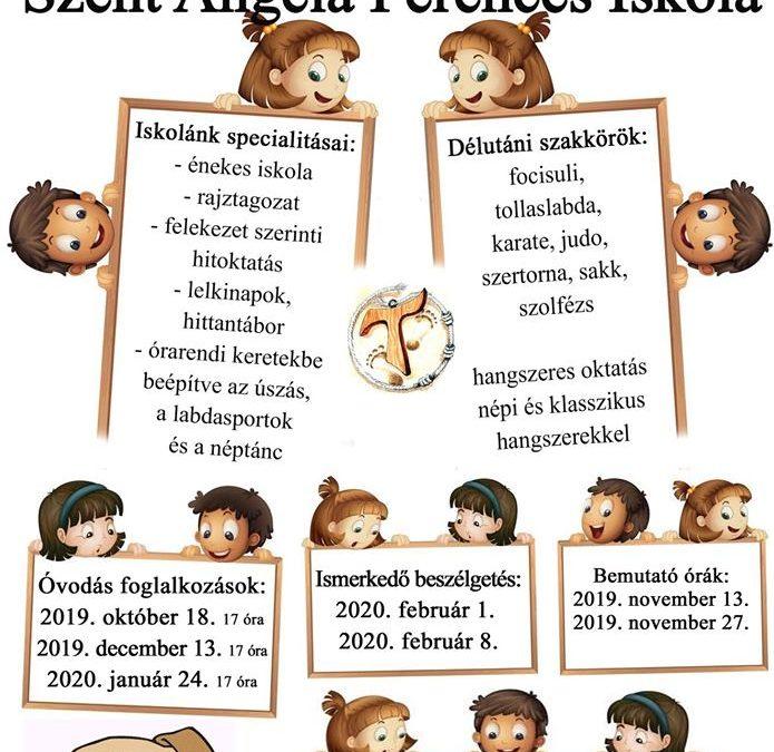 Szent Angéla Ferences Iskola