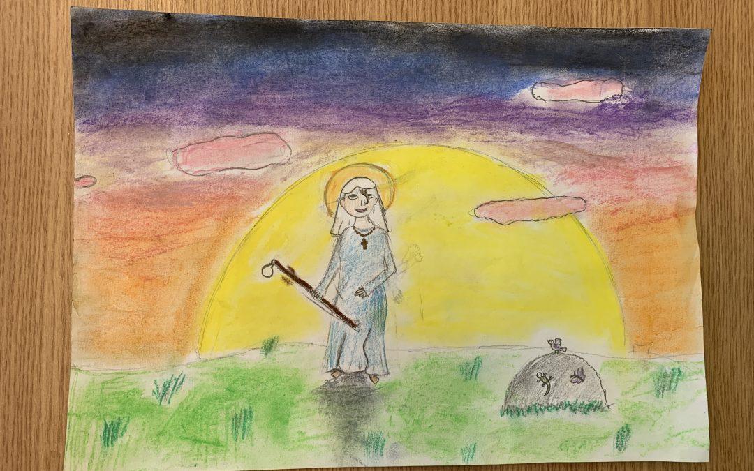 Szent Angéla rajz verseny